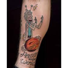 Shitty Tattoo Rick by MaximumsRickimus137