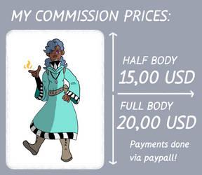 Commission Prices V.1