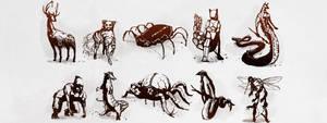 PS Creature Series P1