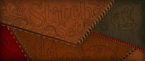 Resource: Sewing Stitches Brush Set by CGCookie