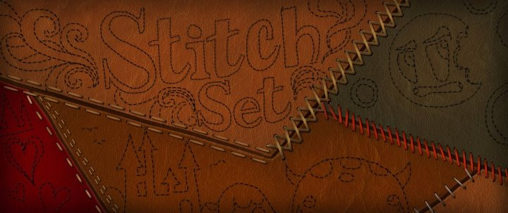 Resource: Sewing Stitches Brush Set by ConceptCookie