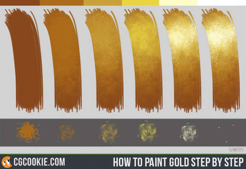 Gold Step by Step tutorial