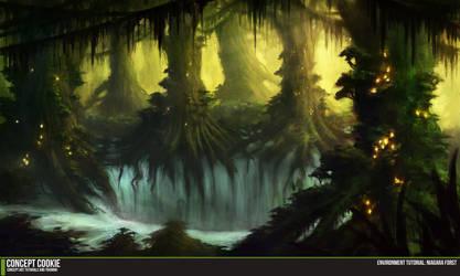 Environment Tutorial: Niagara Forest