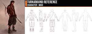Turnaround - Miko by CGCookie