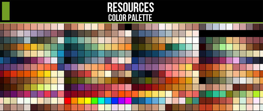 Color Palette Resource by ConceptCookie