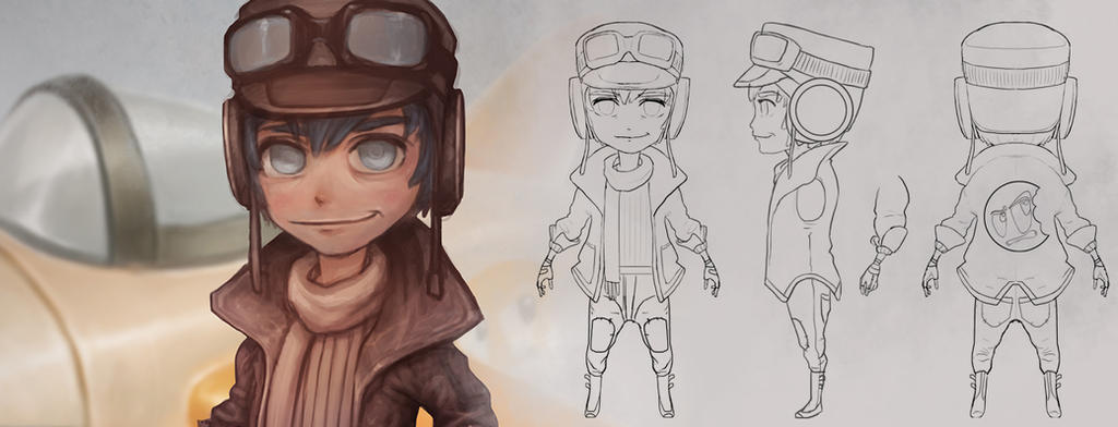 Creating a Stylized Character Turnaround Tutorial by ConceptCookie