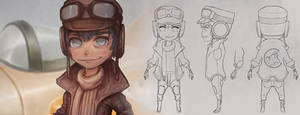 Creating a Stylized Character Turnaround Tutorial by CGCookie