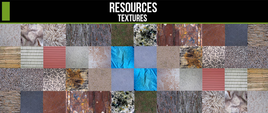 Resources Textures Page! by ConceptCookie
