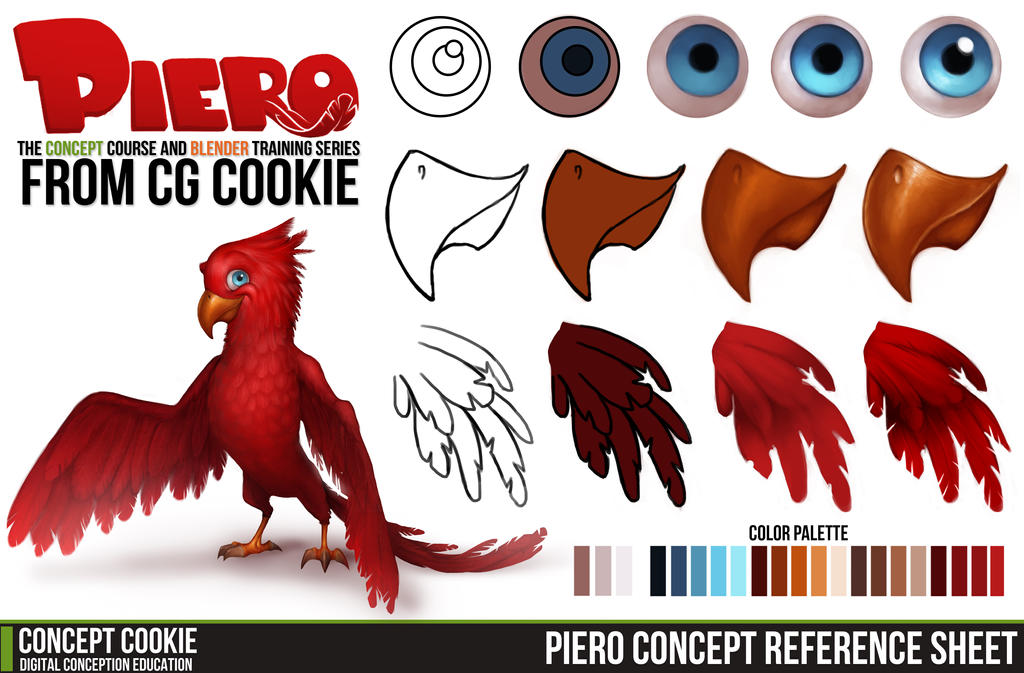 Piero Course Reference Sheet by CGCookie