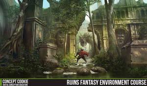 Ruins Fantasy Environment Course