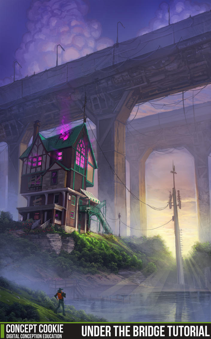 Under the bridge environment tutorial by cgcookie on deviantart under the bridge environment tutorial by cgcookie baditri Gallery