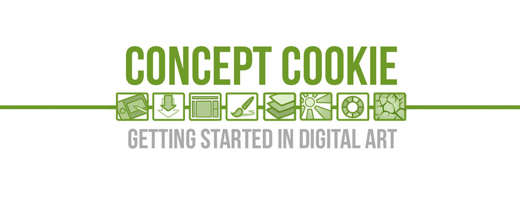 Getting Started in Digital Art Course by ConceptCookie