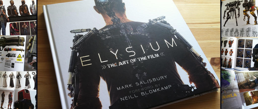 Art Book Review: Elysium by CGCookie