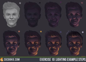 Exercise 10 : Lighting Example Steps