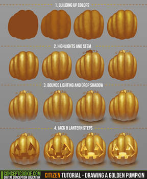 Citizen Tutorial - Drawing a Golden Pumpkin