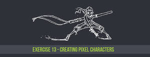 Exercise 13: Creating Pixel Characters by CGCookie