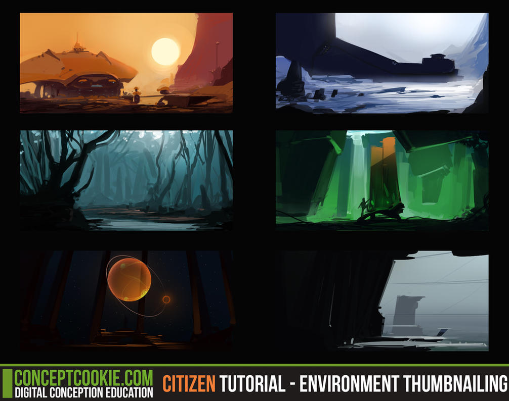 Citizen Tutorial - Environment Thumbnailing by ConceptCookie