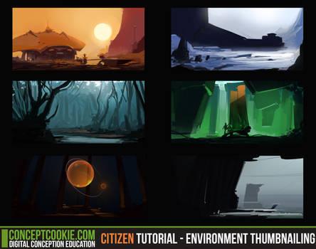 Citizen Tutorial - Environment Thumbnailing