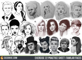 Exercise 22 Results: Familiar Faces