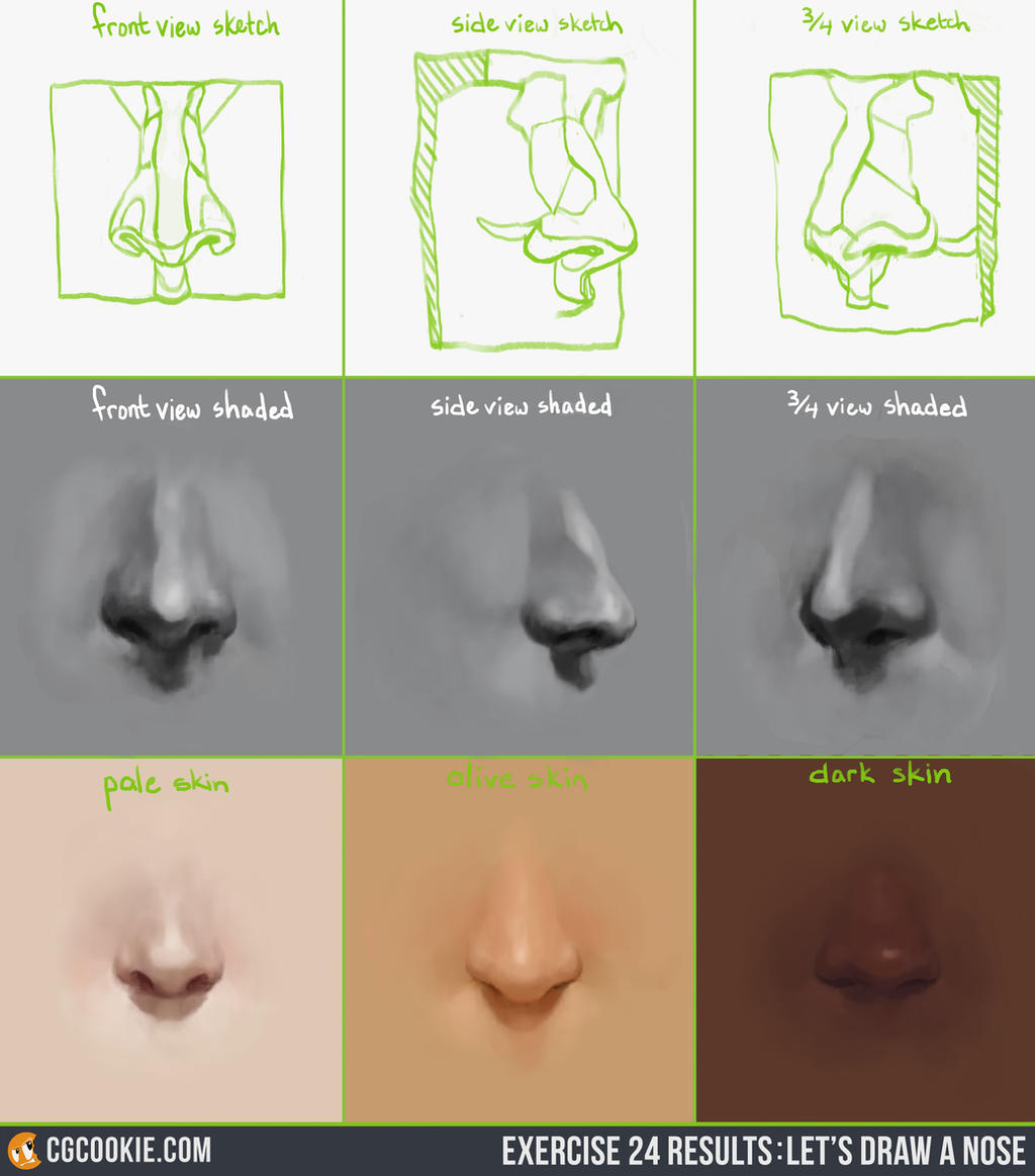 Drawing the Nose Video Tutorial