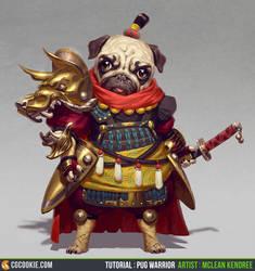 Tutorial: Pug Warrior by CGCookie