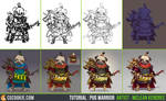 Tutorial Step by Step: Pug Warrior