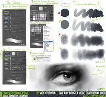 Tip Video: Give Any Brush a More Traditional Look by CGCookie