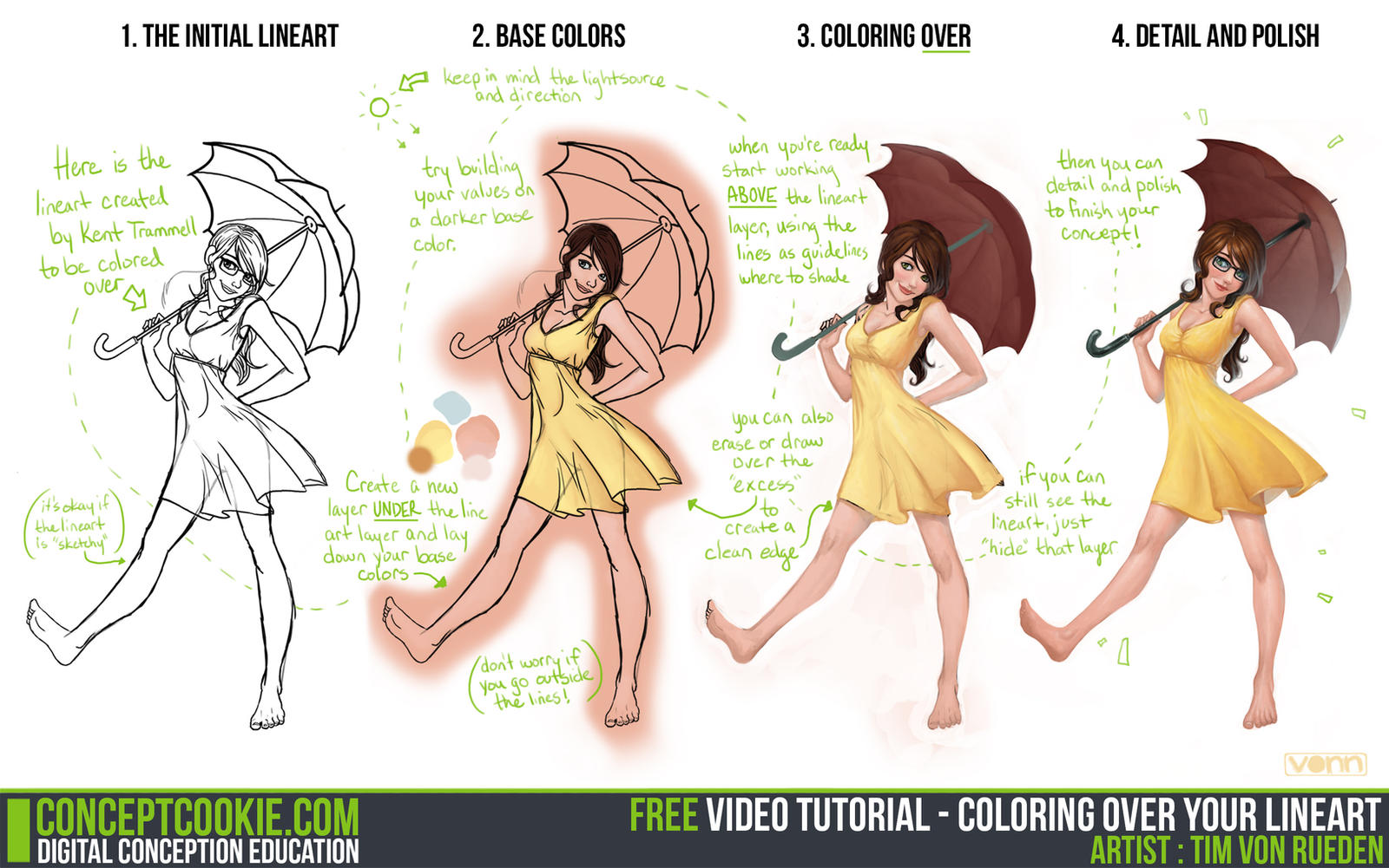 How to color your art in photoshop - Skullz Adopts 4 307 3 581 Tutorial Coloring Over Your Lineart By Cgcookie