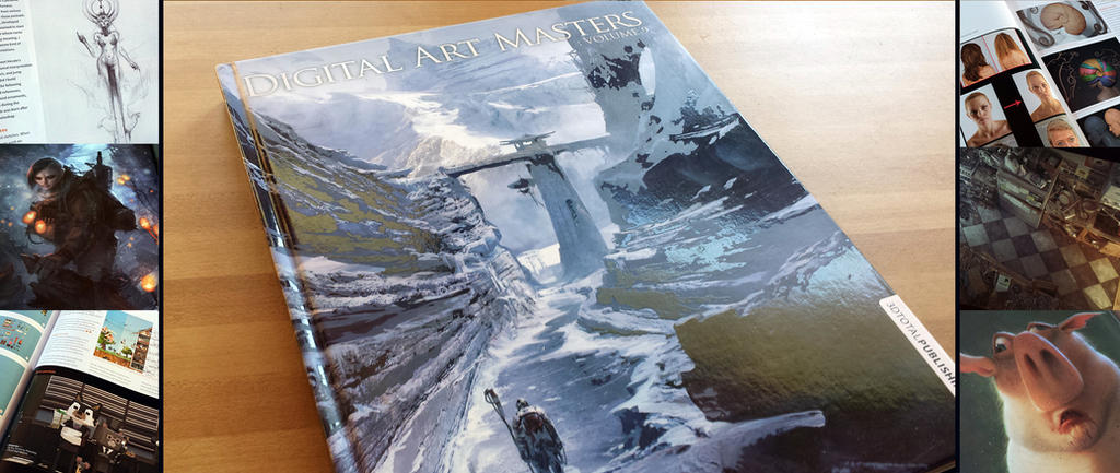 Art Book Review: Digital Art Masters Volume 9 by ConceptCookie