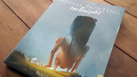 Art Book Review: Digital Painting Techniques: V6