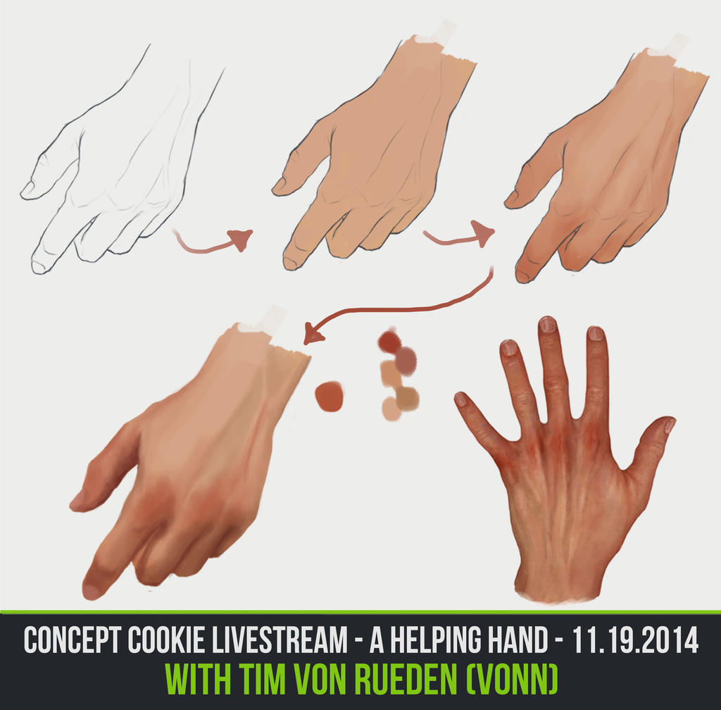 Helpinghand Livestream by ConceptCookie