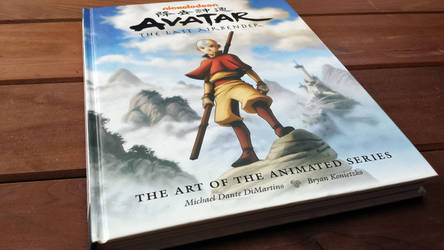 Art Book Review: Avatar - The Last Airbender by CGCookie