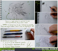 Traditional Tutorial: Sketching Tips by CGCookie