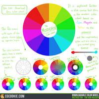 The Color Course: Downloadable Color Wheel