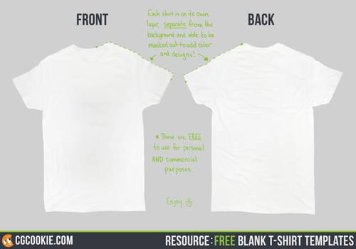 Resource: Blank T-Shirt Templates