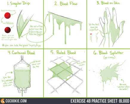 Exercise 48 Practice Sheet: Blood