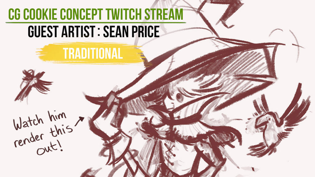 LivestreamImage SEanPrice3 by CGCookie
