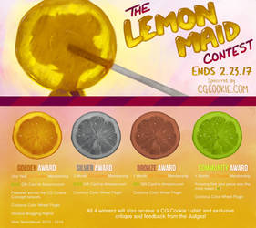 Winter Contest 2017: Lemon Maid - CLOSED! by CGCookie