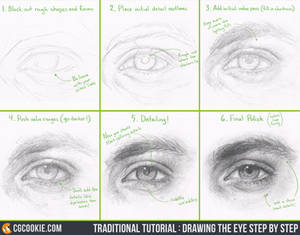 Tutorial: Drawing the Eye Step by Step