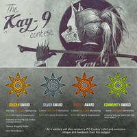 The KAY-9 Contest - Double Prizes!