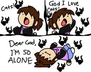 Im so alone MEME by DoddleFur