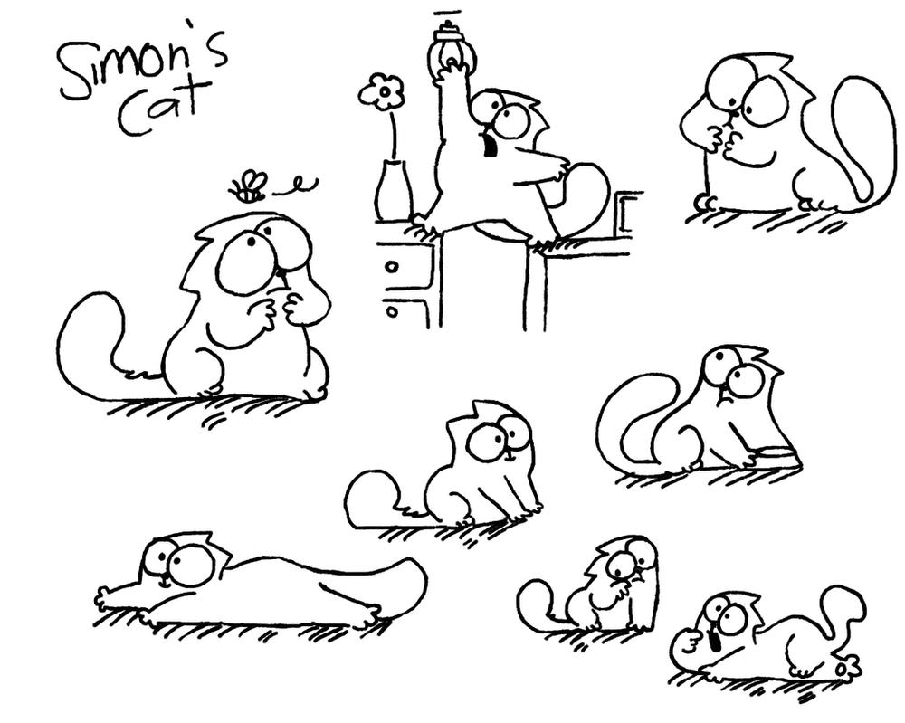 кот симонса картинки