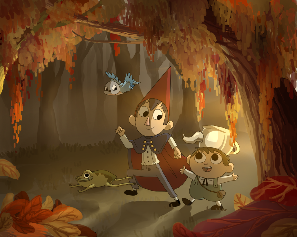 Over The Garden Wall By Doddlefur On Deviantart