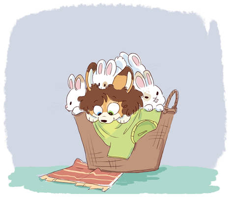 basket of buns