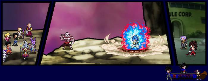 What if : Jiren vs gogeta! (torneo del poder) by naickmer