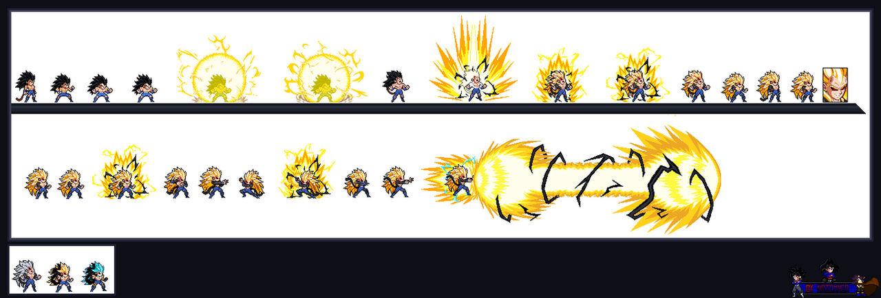 Rigor ssj5 ataque final! (Dragon ball new age) by naickmer