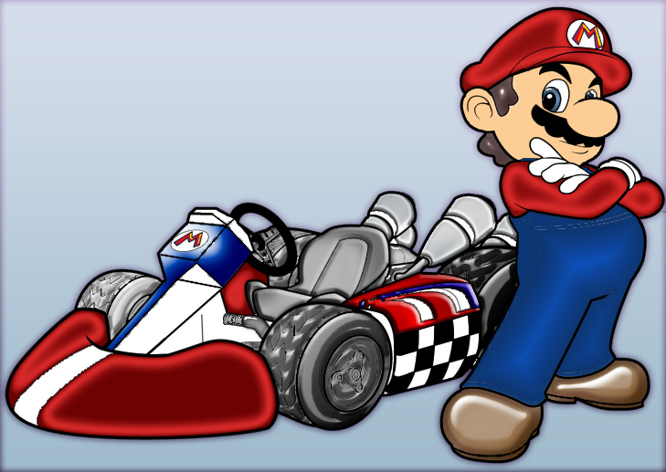 dibujos de mario kart imagui. Black Bedroom Furniture Sets. Home Design Ideas