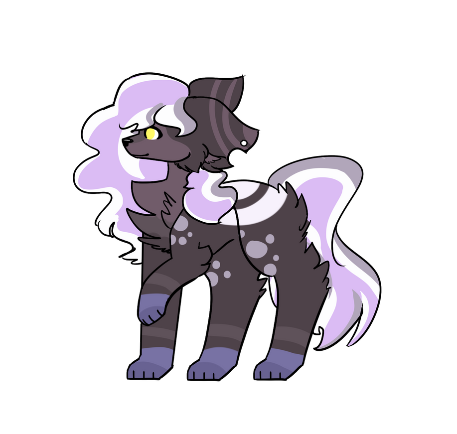 Adoptable for 50 points / Open by NakatoWolf