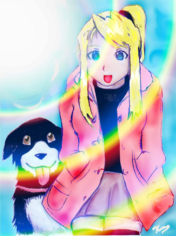 blonde den winry and - photo #43