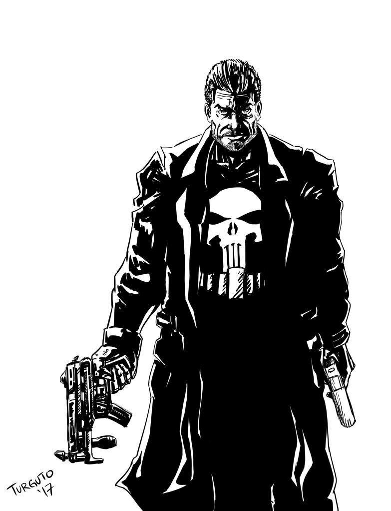 The Punisher by Turguto